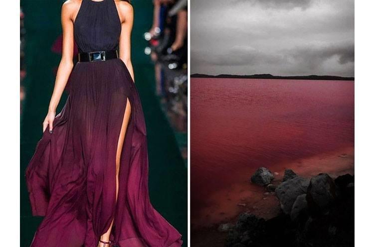 مصممو الأزياء يختلسون أفكارهم من الطبيعة #ازياء صوره رقم 9