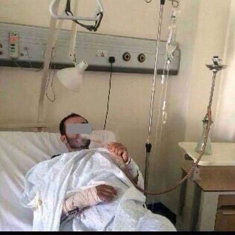 خطأ طبي يدخل شيشة لمريض بدون بربيش صحي