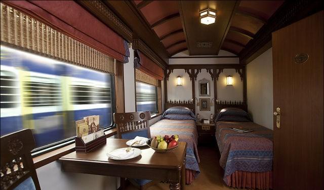 قطار المهراجا الفاخر في #الهند #غرد_بصورة-صورة 20