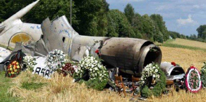 مقتل ستة أشخاص على الأقل في اصطدام طائرتين بموسكو