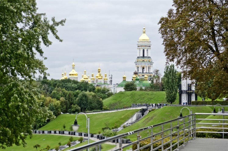 #اوكرانيا الأضرحة الأرثودوكسية لافرا كييفو بيشيرسكا