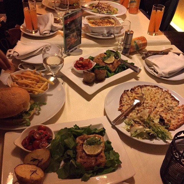 مطعم جولياز فرع شارع التخصصي ، الرحمانية #الرياض