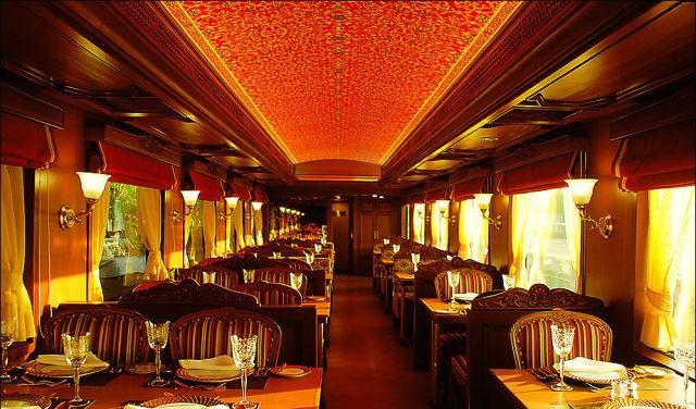 قطار المهراجا الفاخر في #الهند #غرد_بصورة-صورة 12