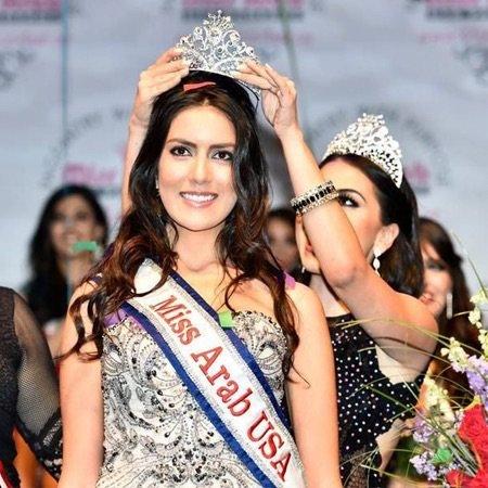 السورية فابيولا الإبراهيم ملكة جمال العرب في #أمريكا لعام ٢٠١٥ - صورة ١