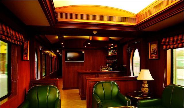 قطار المهراجا الفاخر في #الهند #غرد_بصورة-صورة 14