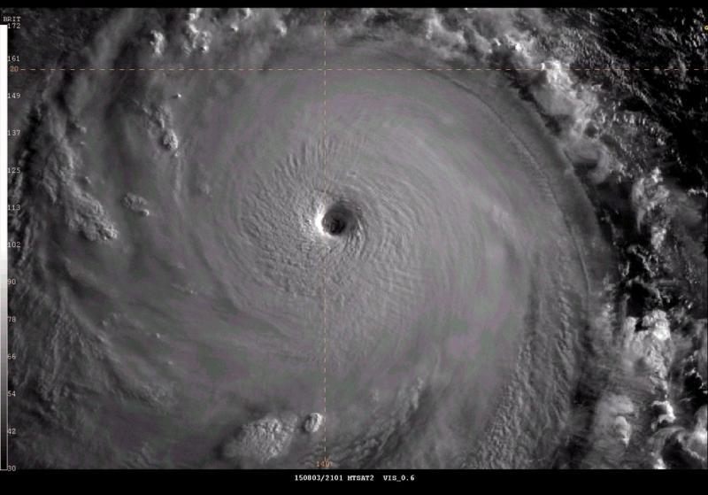 اعصار سوديلور اثناء اقترابه من #تايوان - صورة ٢