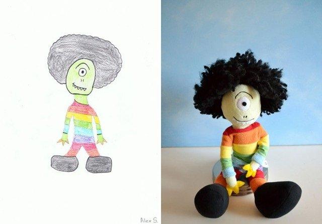 فنان يحول رسومات الصغار إلى ألعاب حقيقة #غرد_بصورة-صورة8