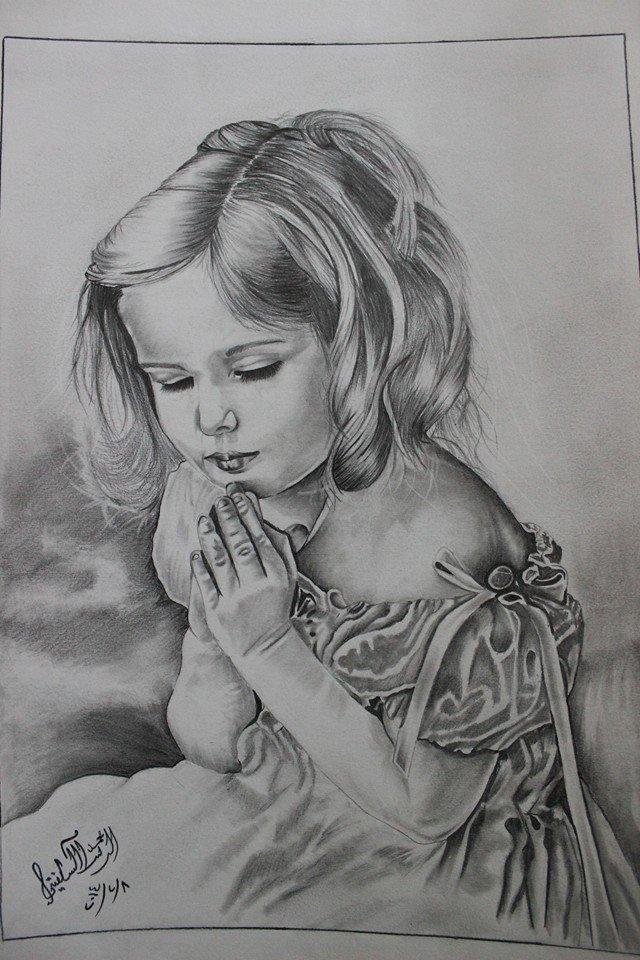 ب 3 ساعات شغل و رسم للرسام #محمد_السلفيتي