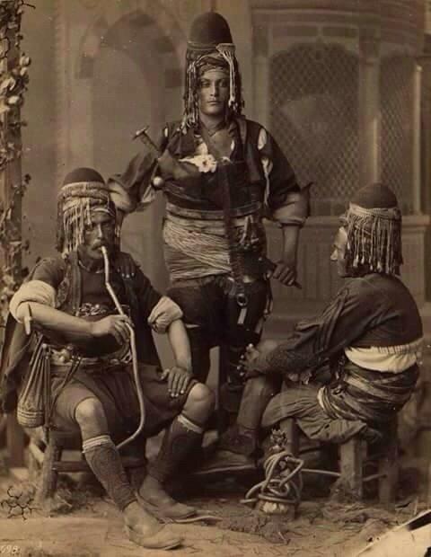 صورة لجنود الدولة العثمانية في القرن التاسع عشر #تركيا