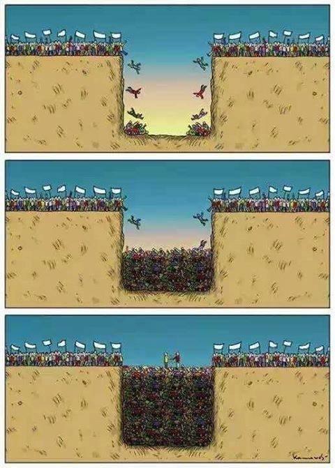 #كاريكاتير معبر عن الحروب