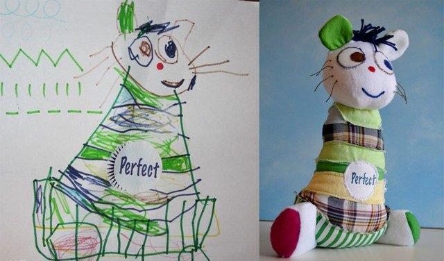 فنان يحول رسومات الصغار إلى ألعاب حقيقة #غرد_بصورة-صورة10