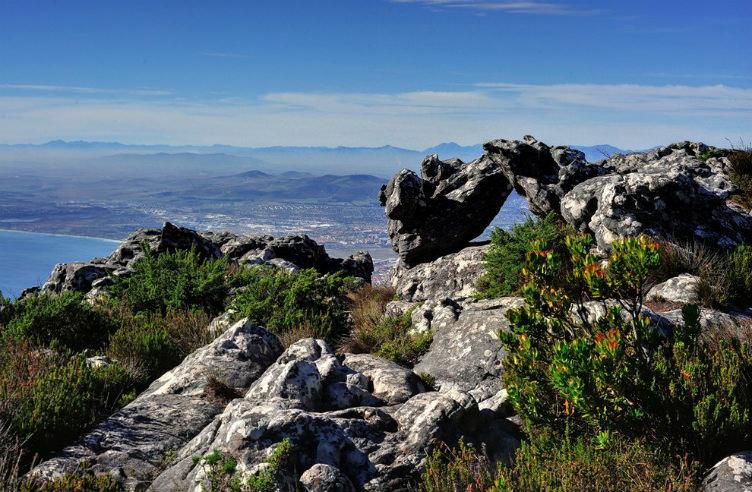 جبل الطاولة كيب تاون #أفريقيا_الجنوبية
