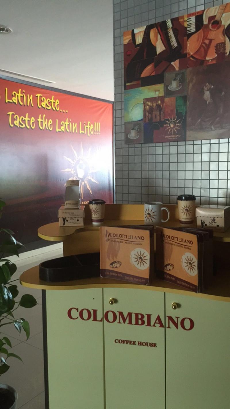 قهوة كولومبيانو - #برج_المارينا - مارينا مول #أبوظبي