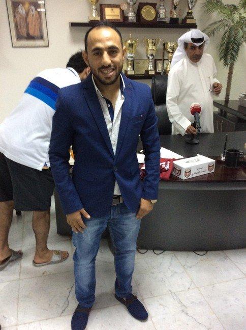 #النصر الكويتي يتعاقد رسميا مع الأردني منذر أبو عمارة #الوحدات #كوره صوره رقم 2