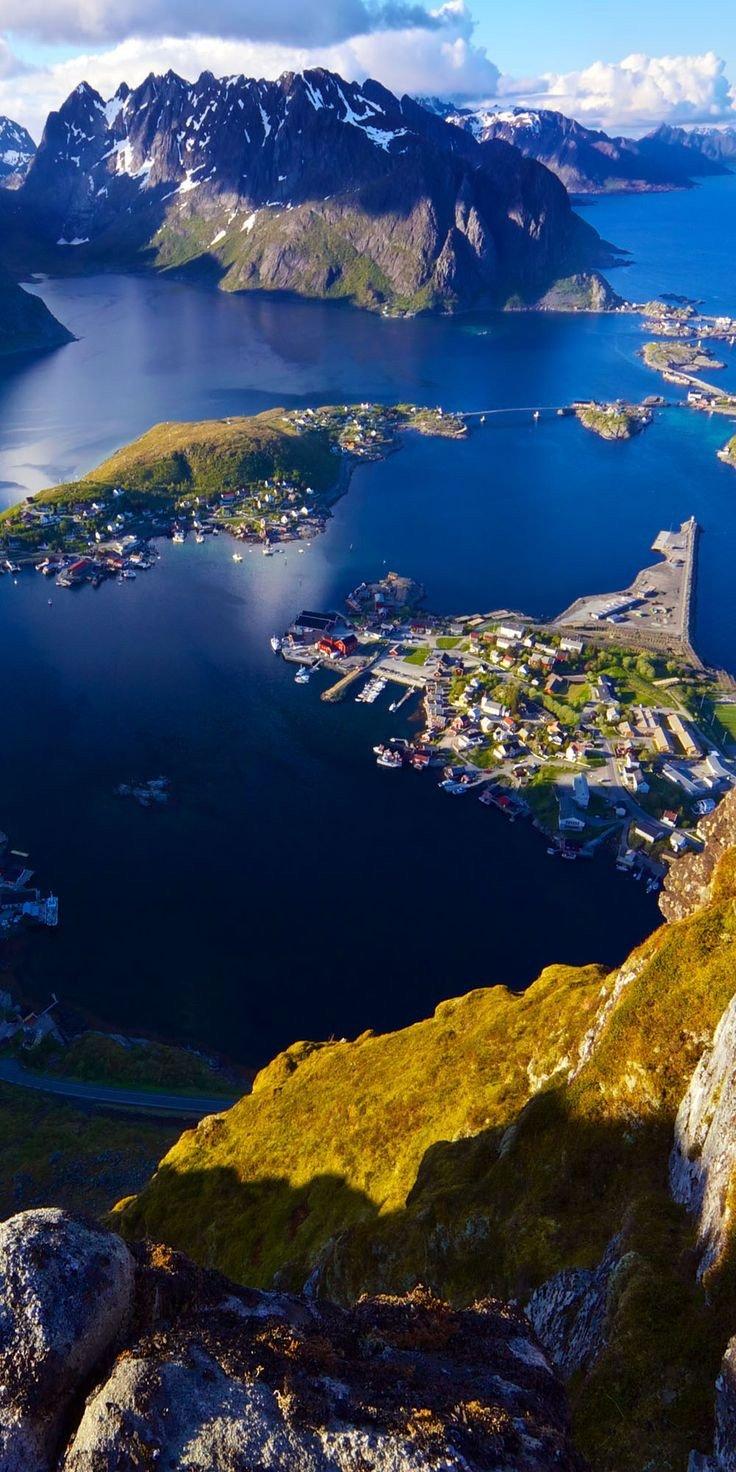 جبل رينبيرغن في #النرويج