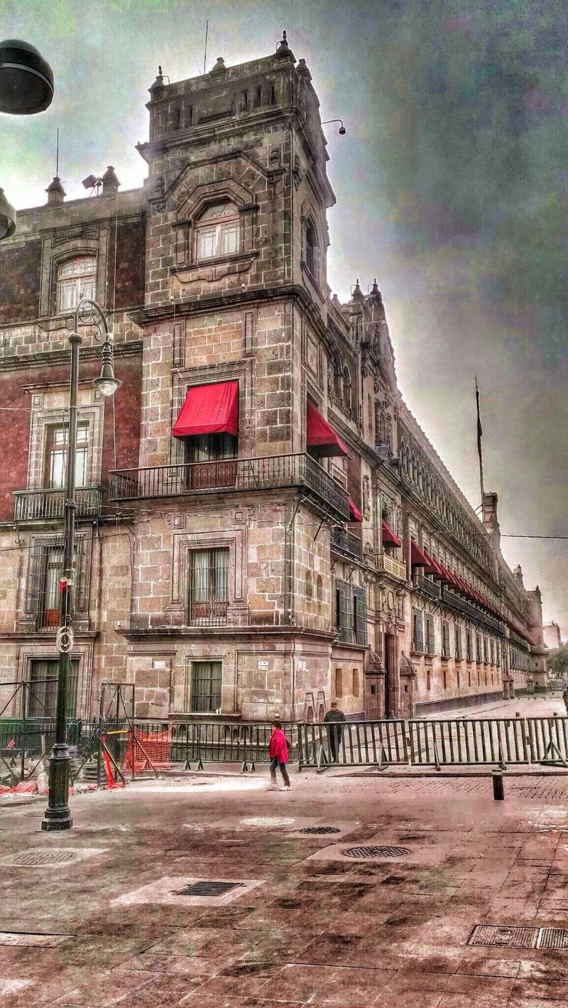 إل زوكالو في #المكسيك