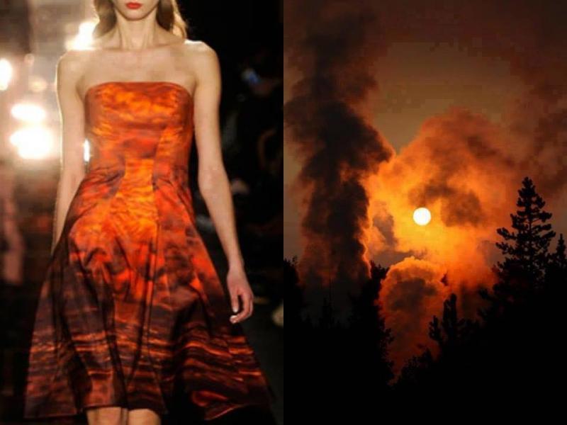 تصاميم أزياء مستوحاة من الطبيعة #ستايل #موضه -صورة 7