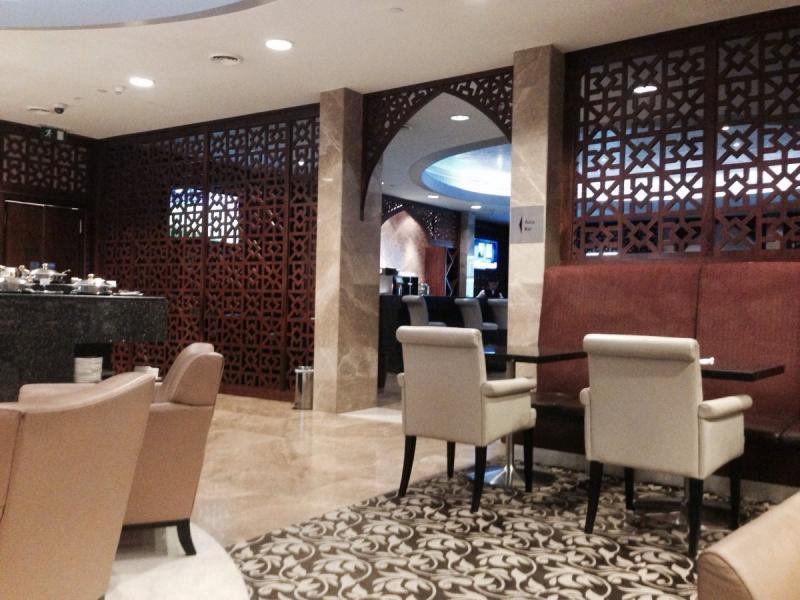 الظبي Aldhabi Lounge في مطار #أبوظبي الدولي - صورة ٢