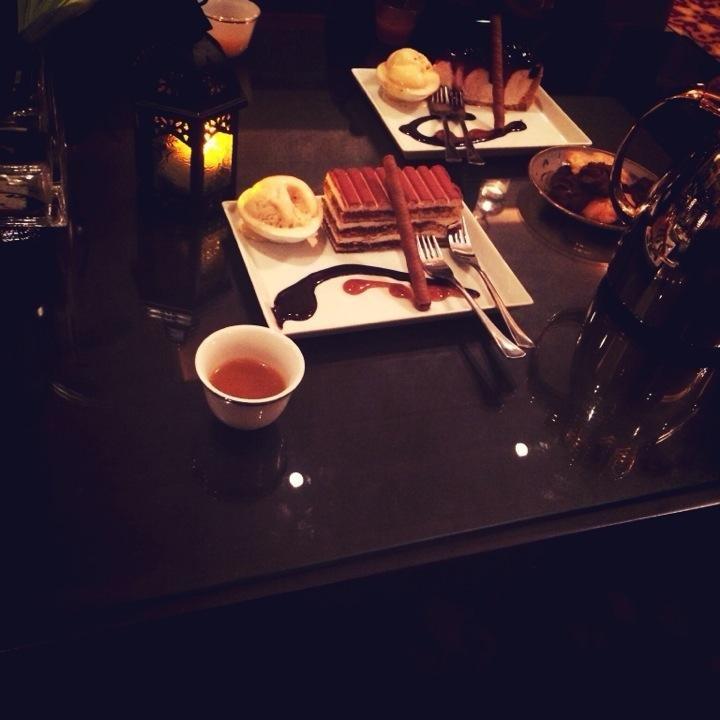 مطعم ايوان فندق المشرق، شارع العروبة #الرياض