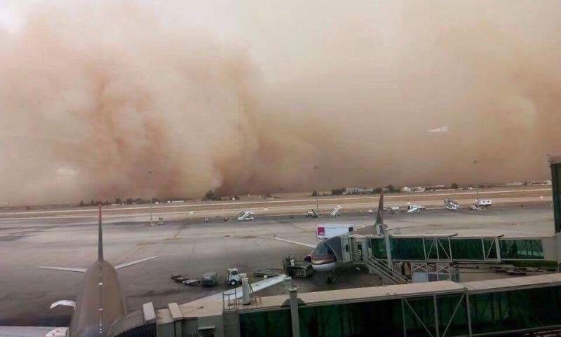 صوره عاصفة رملية في #عمان #العاصفه_الرمليه صوره رقم4