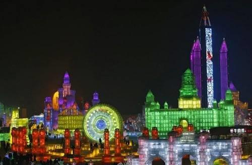 #مهرجان في #الصين يجعلك تعيش المغامرة داخل متاحف وقصور عملاقة من الثلج صوره رقم 4