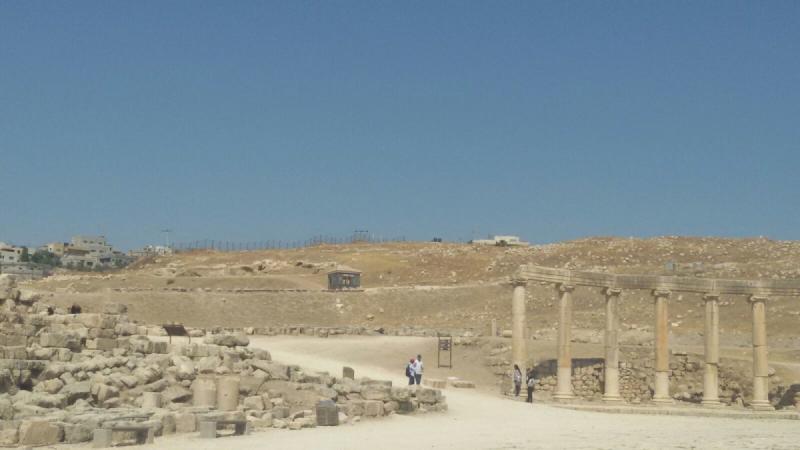 ساحة جرش #جرش #الأردن - صورة 3