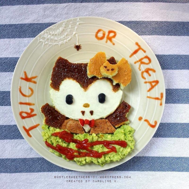 أطباق على شكل أعمال فنية تفتح شهية أطفالك #غرد_بصورة صوره رقم 4