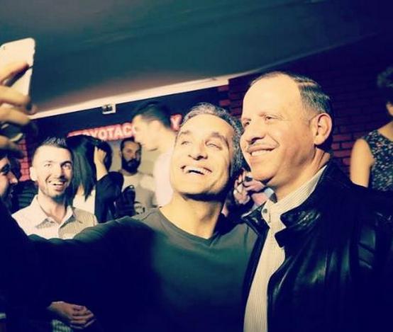 باسم يوسف يلتقط #سلفي مع الامير فيصل #مشاهير #الاردن