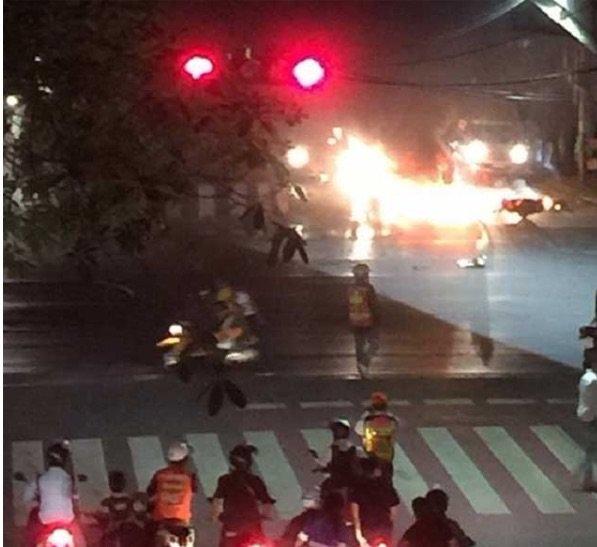 انفجار جديد في #بانكوك قرب محطة المترو وانفجار آخر يخطىء هدفه