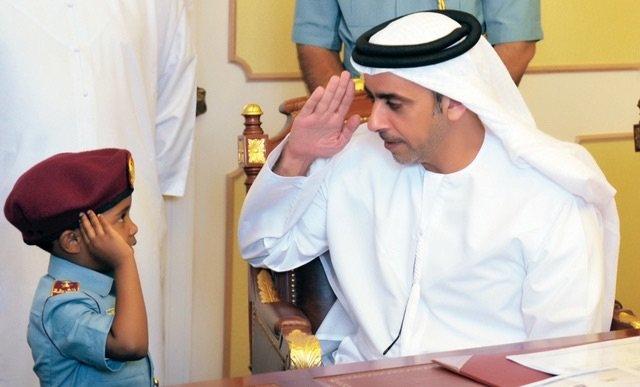 هكذا نربي أبناءنا في #الإمارات