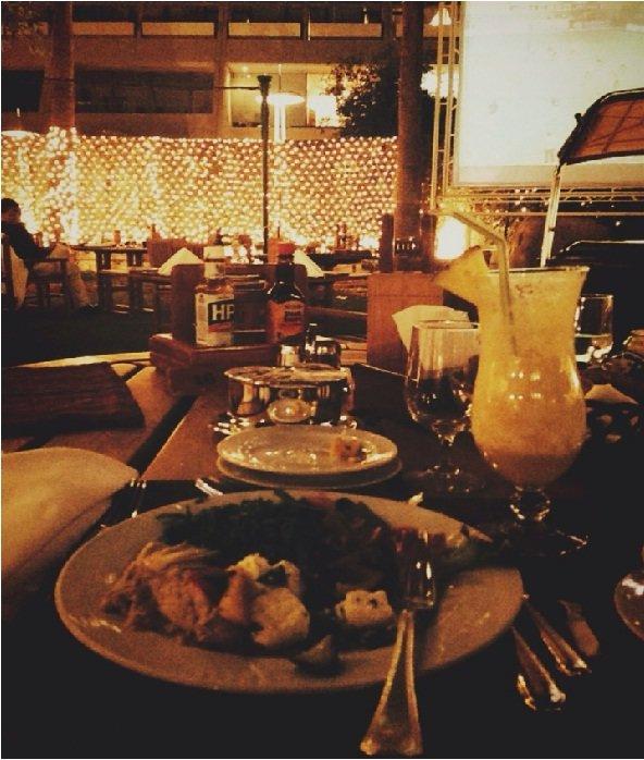 مطعم جاردن باربيكيو فندق الخزامى ، شارع عليا #الرياض