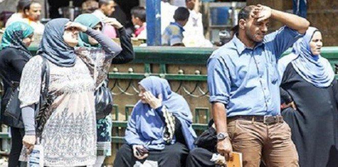 21 حالة وفاة و66 إصابة بسبب ارتفاع درجات الحرارة في #مصر