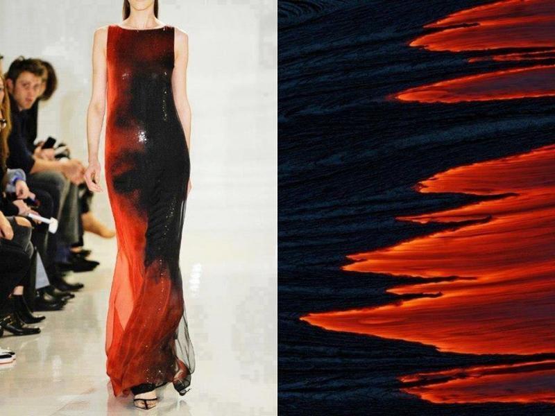 تصاميم أزياء مستوحاة من الطبيعة #ستايل #موضه -صورة 2