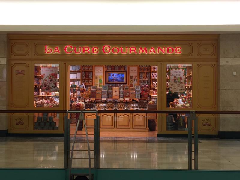 حلويات La cure gourmande #أبوظبي مول الطابق الأول