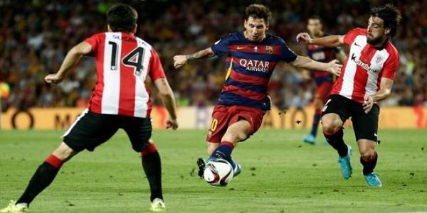 أتليتك #بلباو يتعادل مع #برشلونة 1-1 ويتوج ببطولة كأس السوبر الإسباني