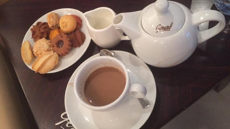 قهوة أميريكانو من جيرارد مارينا مول #أبوظبي