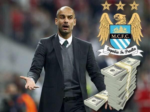 #مانشستر_سيتي سيقدم 27 مليون لـ جوارديولا من أجل إقناعه