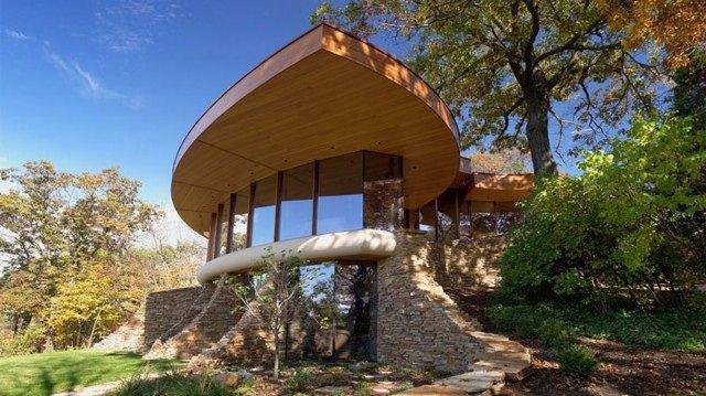 تصميم منزل رائع في ولاية ويسكنسون الأمريكية #غرد_بصورة -صورة 1