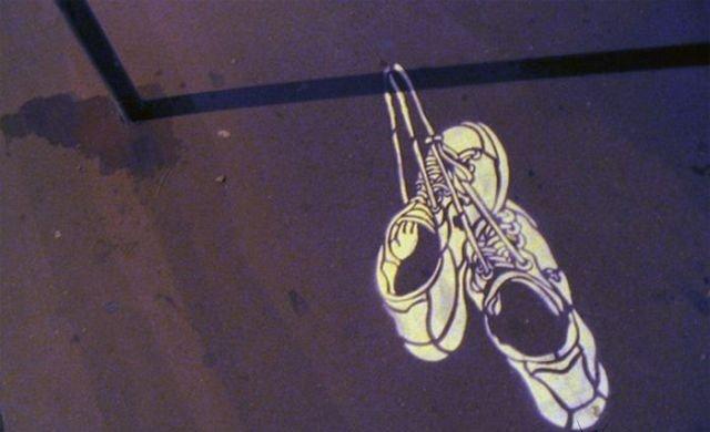 فن الرسم على الطريق والظل #غرد_بصورة- صورة 1