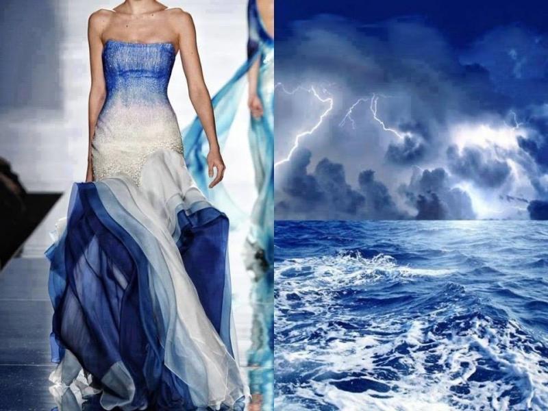 تصاميم أزياء مستوحاة من الطبيعة #ستايل #موضه -صورة 9