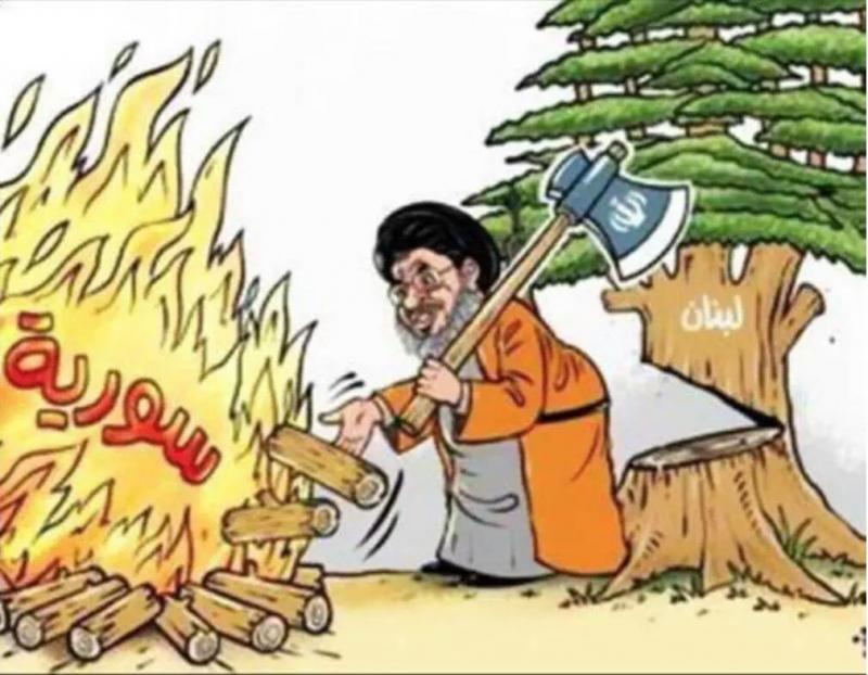 هذا ما يحصل في #سوريا واثره على #لبنان