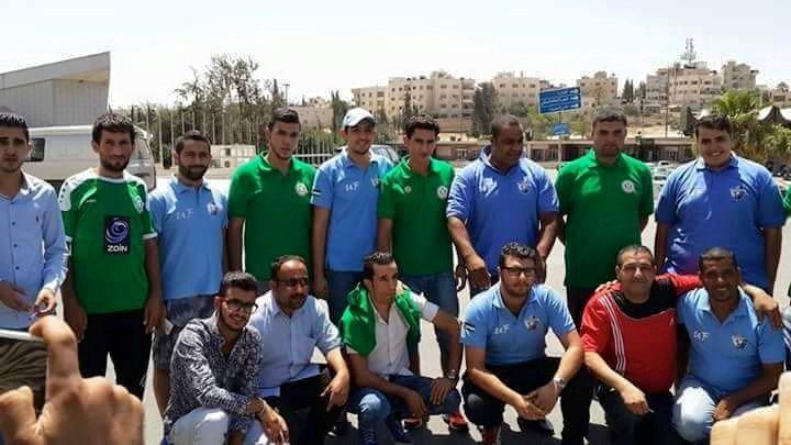 رابطة مشجعي نادي #الوحدات وألتراس #الفيصلي اليوم 