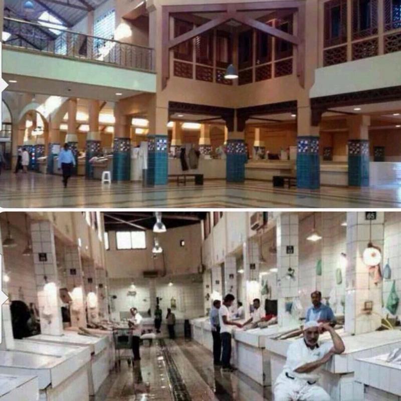 من نتائج حملة #خلوها_تخيس سوق السمك في الكويت فارغ