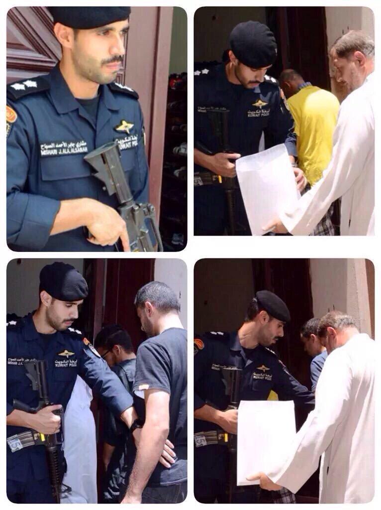 إبن أمير #الكويت الراحل جابر الأحمد الصباح يؤّمن المساجد للمصلين