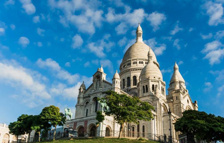 كاتدرائية القلب المقدس #باريس #فرنسا