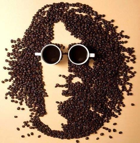 فن الرسم اشكال من القهوة #غرد_بصوره صوره رقم2