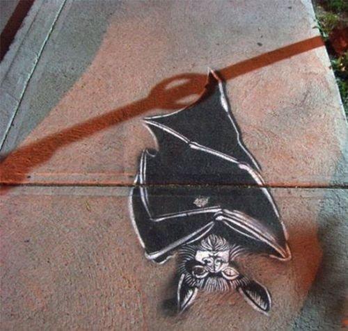 فن الرسم على الطريق والظل #غرد_بصورة- صورة 2