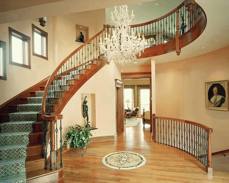 التصاميم الجميلة من السلالم الخاصة بالمنازل #غرد_بصوره صوره رقم 5