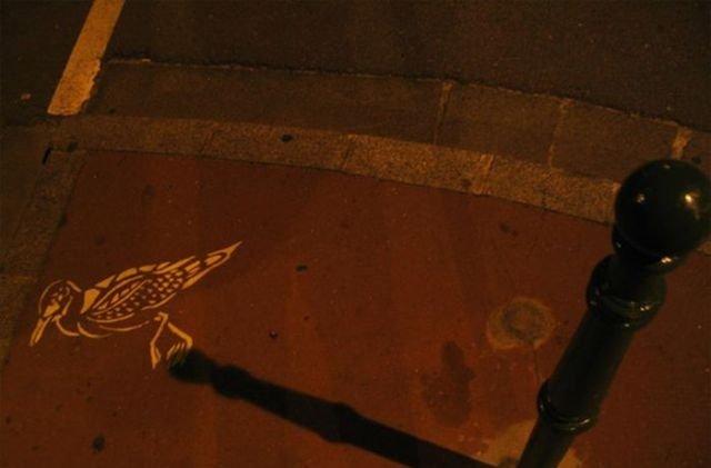فن الرسم على الطريق والظل #غرد_بصورة- صورة 5