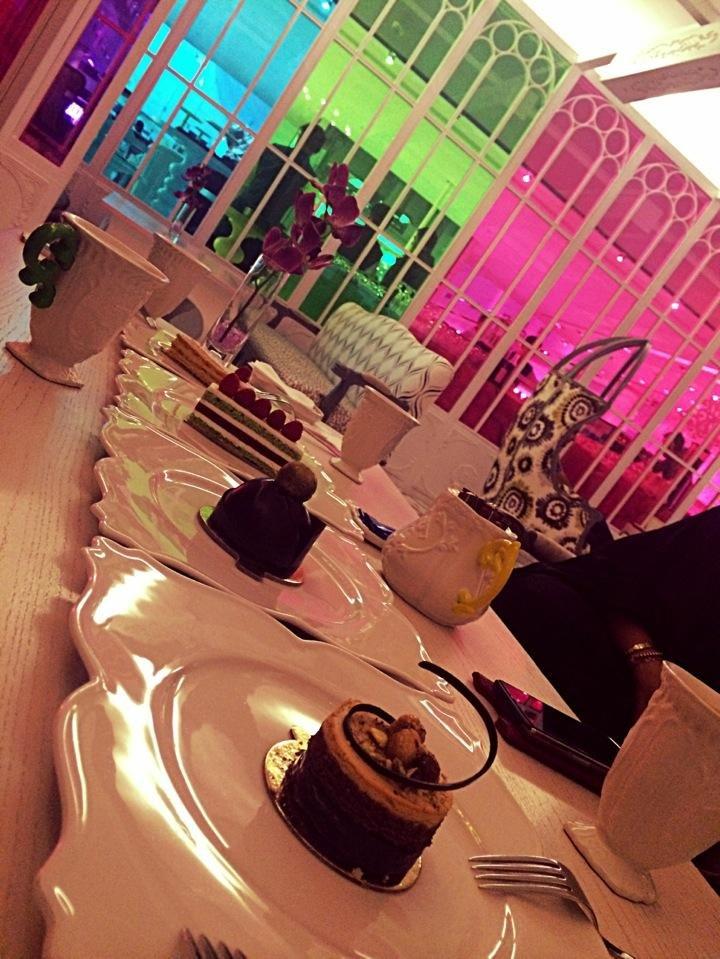 مطعم سكارموشي #برج_الفيصلية - شارع الملك فهد #الرياض